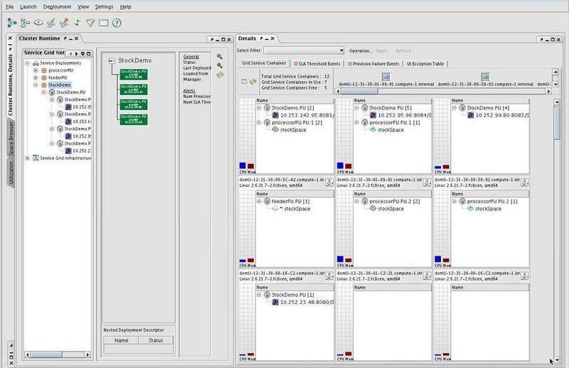 GigaSpacesUIScreenshot